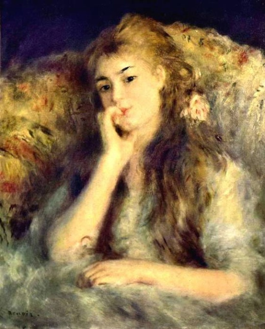 Pierre Auguste Renoir - Portret_devochki_1878
