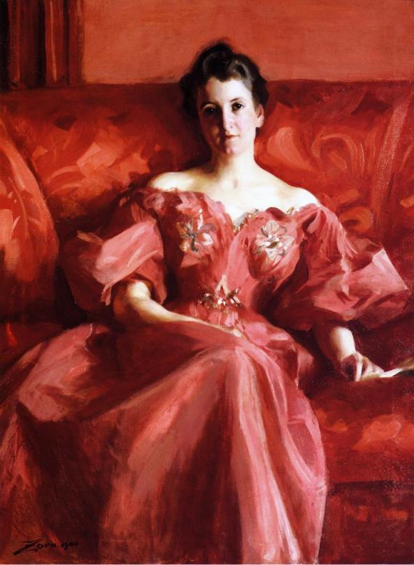 Portrait of Mrs. Howe (née Deering)
