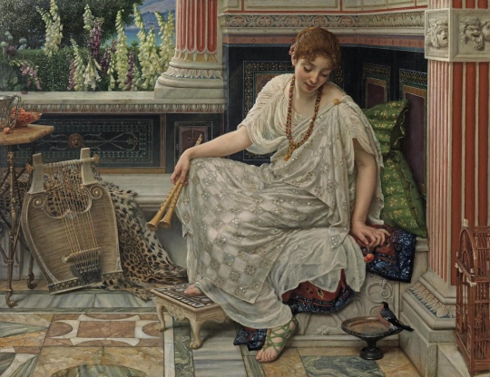 Sir Edward John Poynter - Chloe, 1893