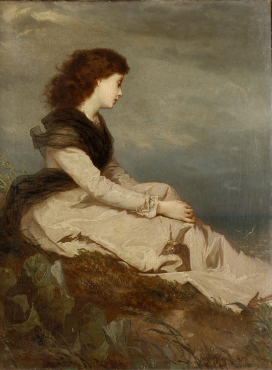 Wilhelm August Lebrecht Amberg Distant thoughts