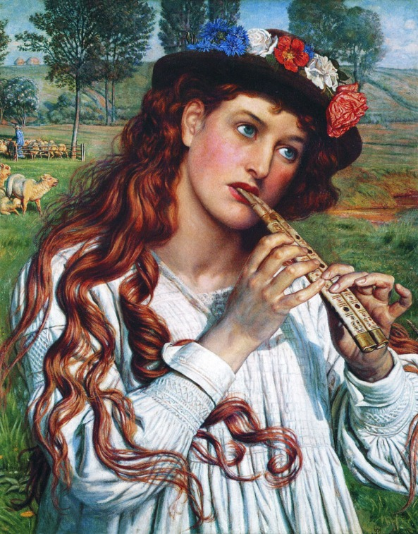 William Holman Hunt - Amaryllis