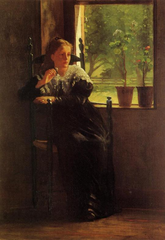Winslow Homer - at-the-window
