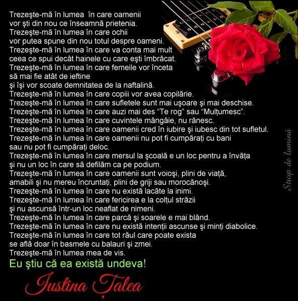 Trezeste-ma by Iustina Talea