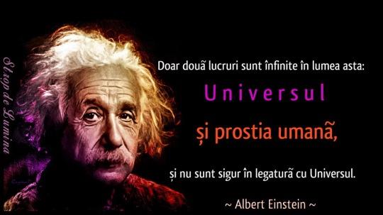 Albert Einstein & prostia umana