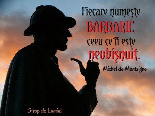 Citat despre barbarie