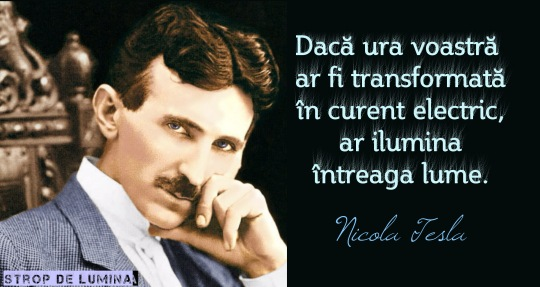Nikola Tesla despre ura