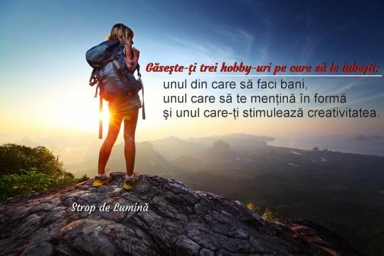 3 hobbi-uri pe care sa le iubesti