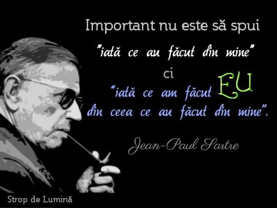 Jean Paul Sartre - ce am facut eu