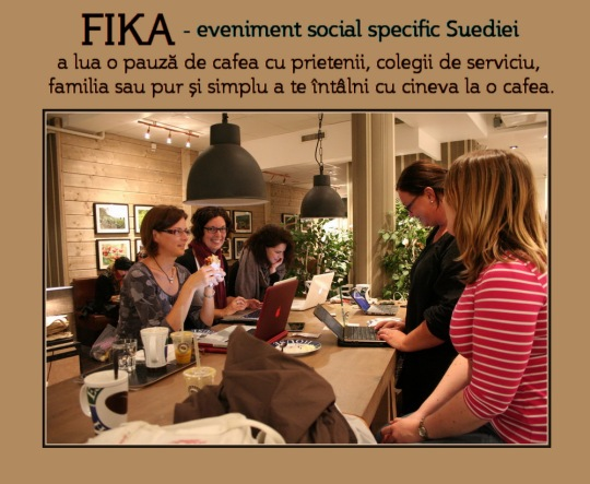Fika - eveniment social suedez