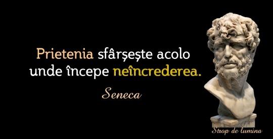 Seneca despre prietenie