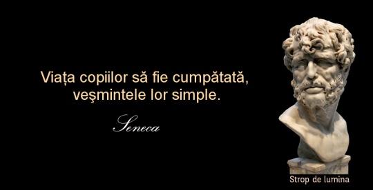 Seneca despre copii