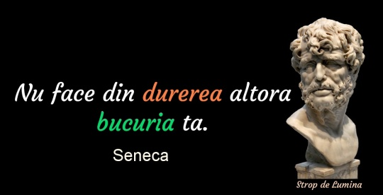 Seneca despre durere şi bucurie