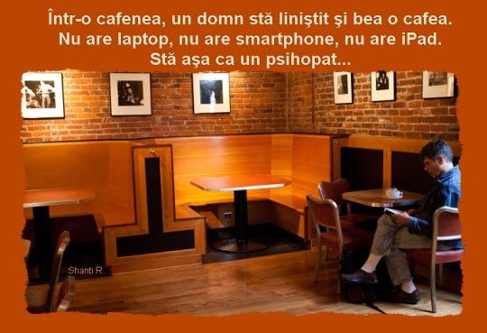 Un psihopat in cafenea