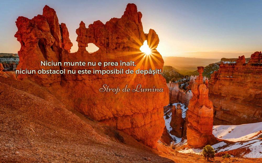 citate despre munte Niciun munte nu e prea inalt | Strop de lumina citate despre munte