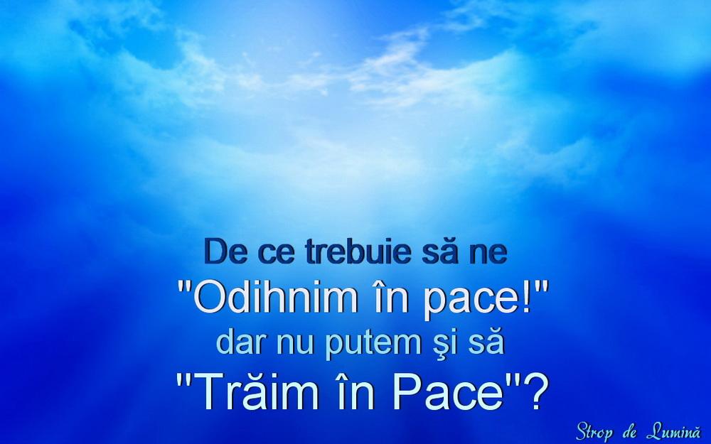 citate despre pace citat despre pace | Strop de lumina citate despre pace
